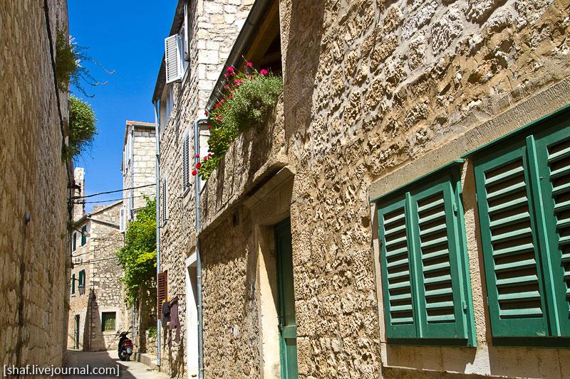 Хорватия, остров Хвар, cтарые улицы Хвара