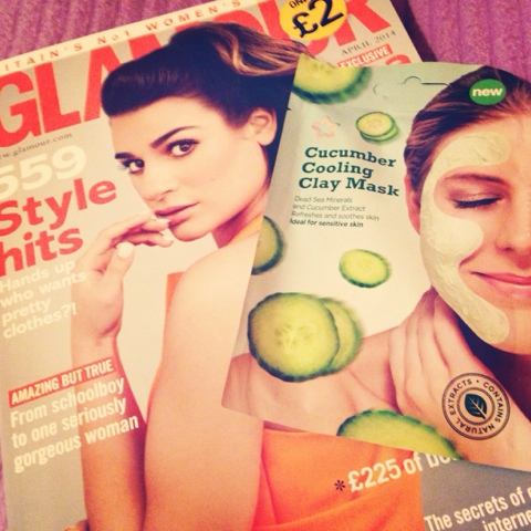 Pampering, Face Mask, Glamour Mag