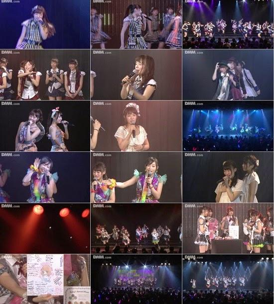 "(LIVE)(公演) NMB48 チームM ""RESET"" 藤江れいなの生誕祭  150205"