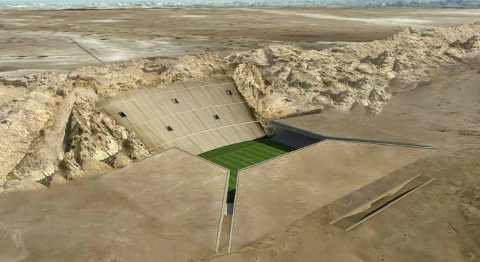Screen%2BShot%2B2012 06 17%2Bat%2B12.39.45%2BPM Pictures: The United Arab Emirates plan to build the worlds first Sand Stadium