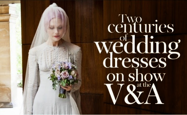 Wedding dress exhibition 2015 at the v a