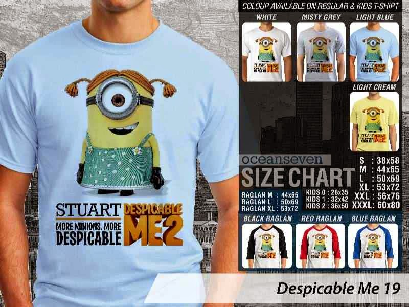 KAOS Despicable me 19 Movie Animation distro ocean seven