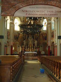 oltarz w Kosciele Sw. Anny