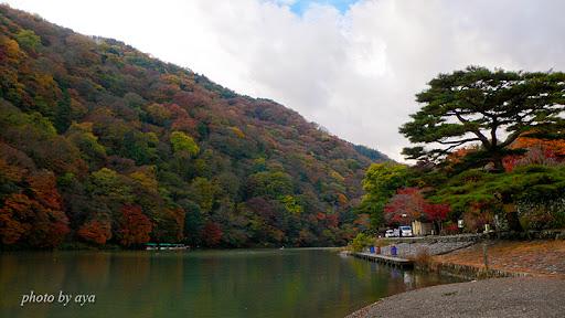 嵐山の紅葉1