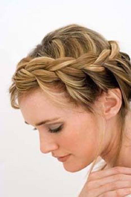 Peinados Semirecogidos Pelo Corto - Peinados-semirecogidos-pelo-corto