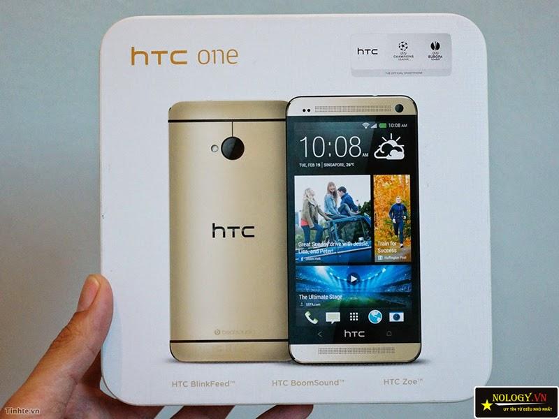 Htc One M7 - đánh giá điện thoại Htc One M7