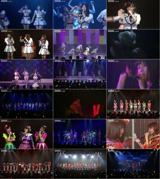 """(LIVE)(公演) NMB48 チームN """"ここにだって天使はいる"""" 古賀成美の生誕祭 150407"""