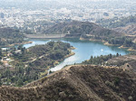Hollywood Reservoir zoomed