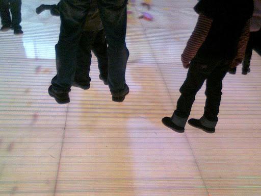 Morocco Mall l'écran au sol