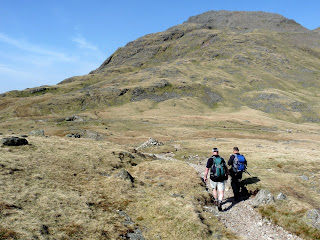 Heading to Great Gable.