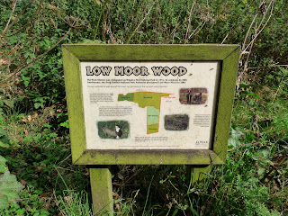 More old signs - this time Low Moor Wood