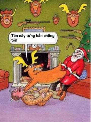 ảnh chế ông già Santa