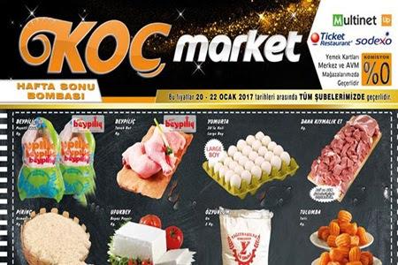 Koç Market 20-22 Ocak Hafta Sonu İndirimler