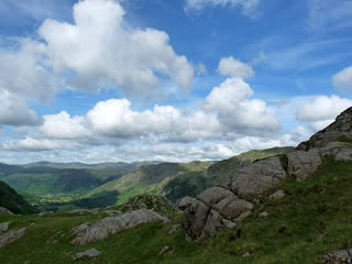 Borrowdale from Gillercombe