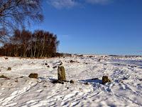 Stone Circle On Froggatt Edge