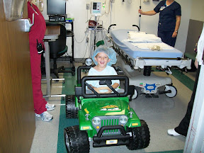 Power Wheels in the Hospital