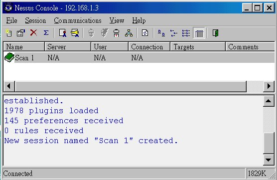 Linux server security scanning