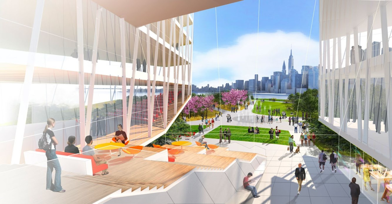 Cornell NYC Tech by Weiss Manfredi