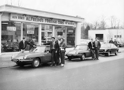 Alfredo's Foreign Cars in 1960s