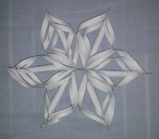 Christmas Decoration - Paper Snowflake