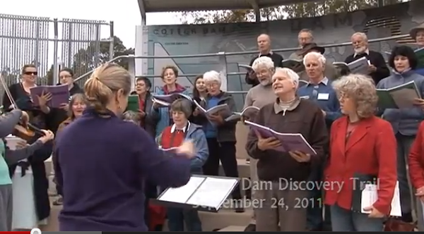 llewellyn choir at the cotter