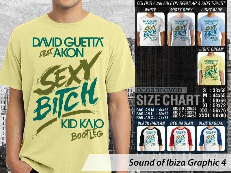 KAOS Musik Ibiza 4 David Guetta feat Akon Sexy Bitch distro ocean seven