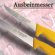 Ausbeinmesser aus Solingen Eisgehärtet. Fleischmesser Metzgermesser Messer von Marsvogel Solingen.