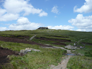 Edale Rocks and slabs for path repairs