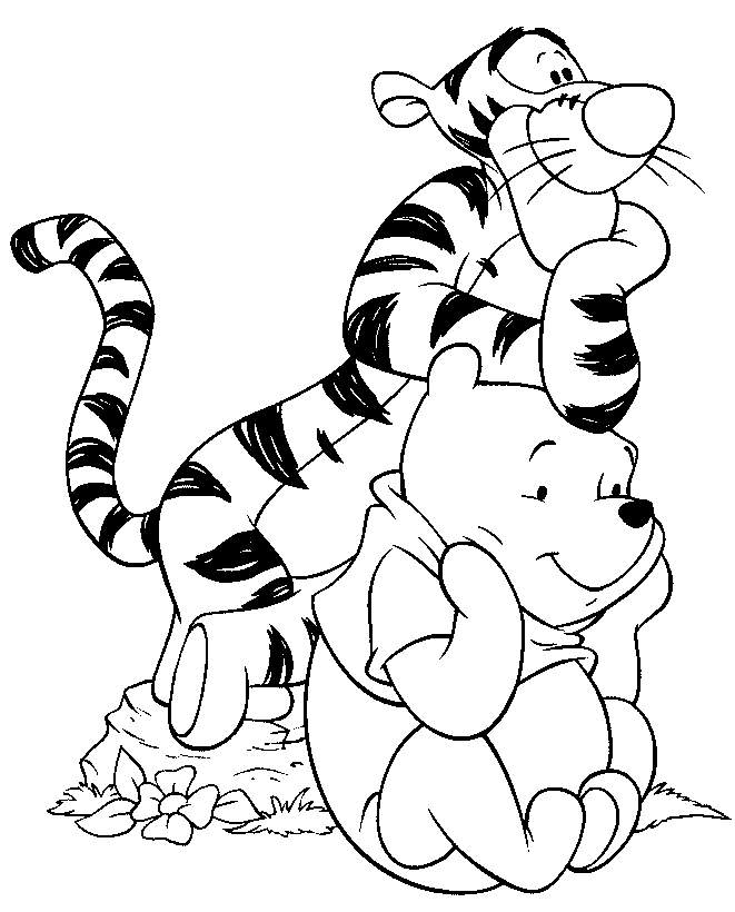 Coloring Pages DLTK's Crafts for Kids - coloring pages of cartoon characters