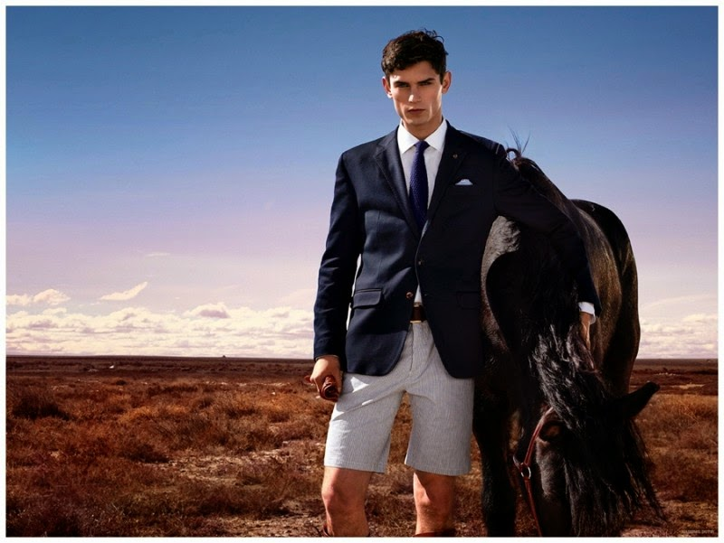 Massimo Dutti Goes Equestrian [men's fashion]
