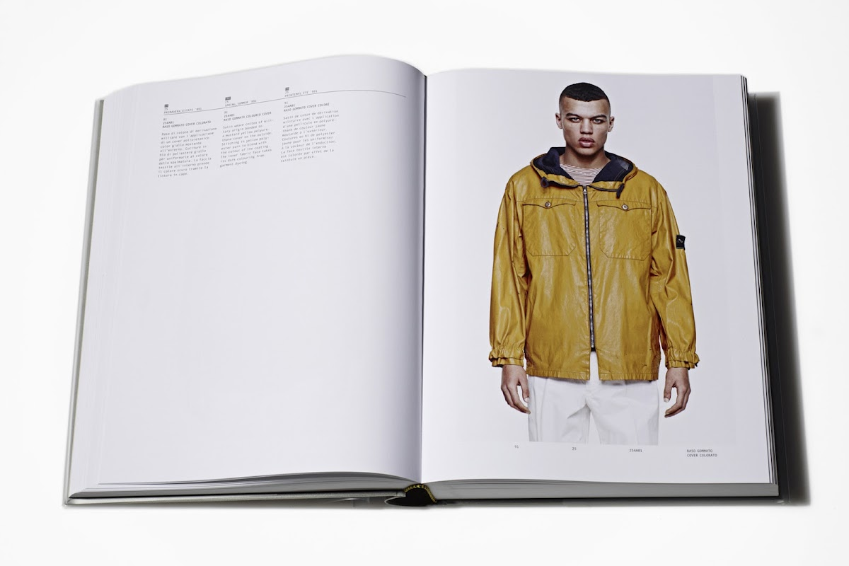 Stone Island Garment Book [men's fashion]