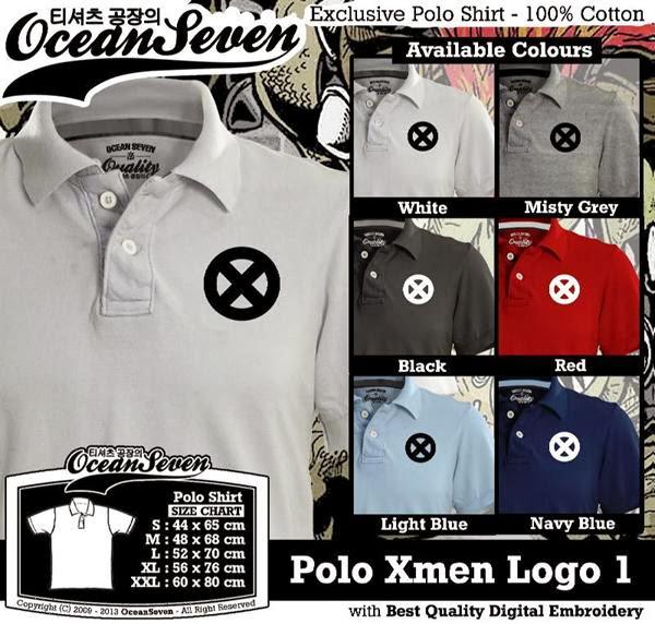 POLO Xmen Logo distro ocean seven