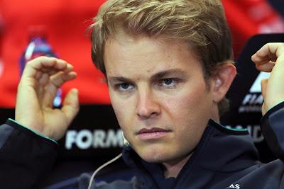 суровый Нико Росберг на пресс-конференции в среду на Гран-при Монако 2014
