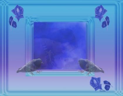 A kép a szerelmet havatott hírdetni. Ezt két galamb(egy pár) jelzi.