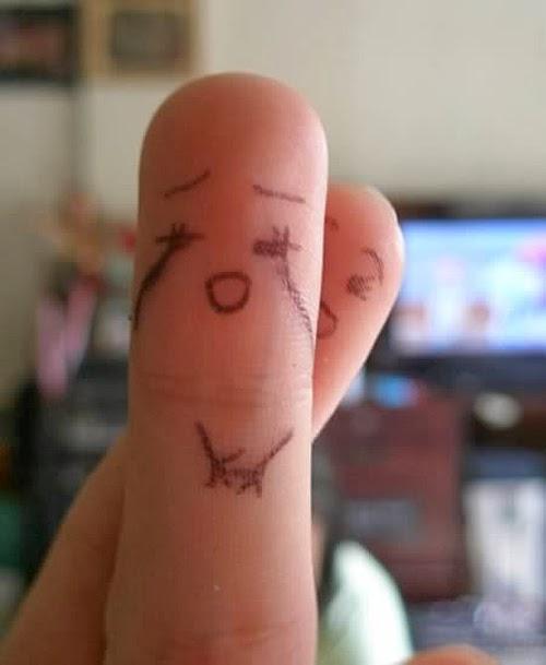 Những ngón tay ngộ nghĩnh