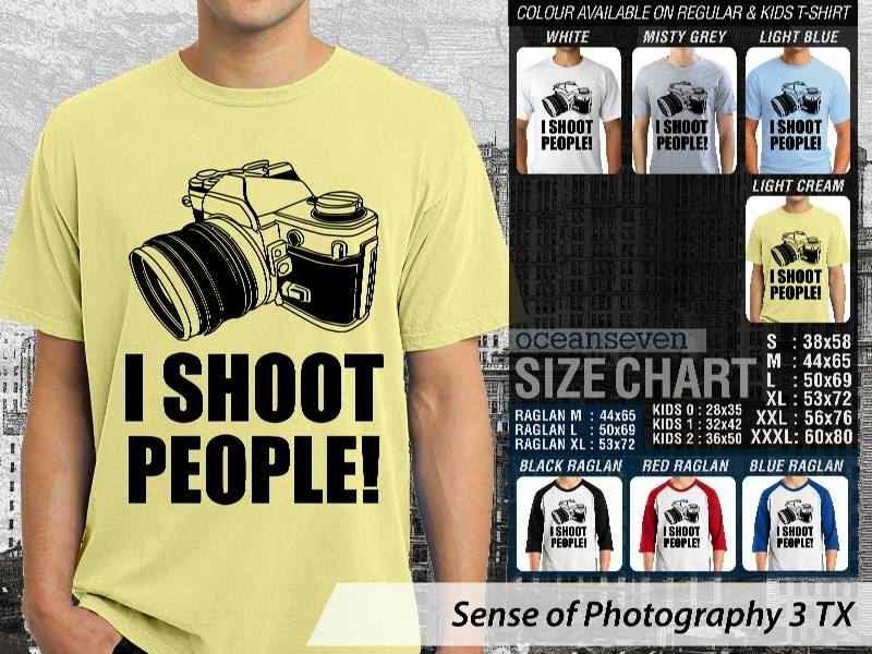 Kaos kamera Sense of Photography 3 Photography distro ocean seven