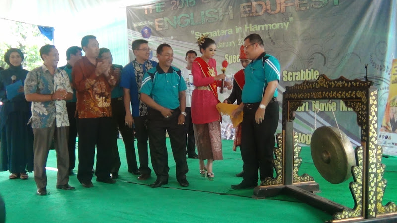 The 2015 South Sumatera – English Edufest