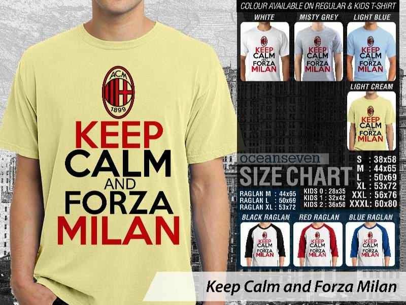 KAOS AC Milan Keep Calm Series distro ocean seven