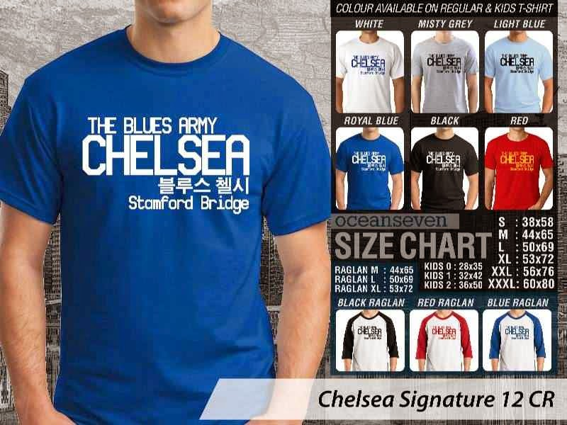 KAOS Chelsea 27 Liga Premier Inggris distro ocean seven