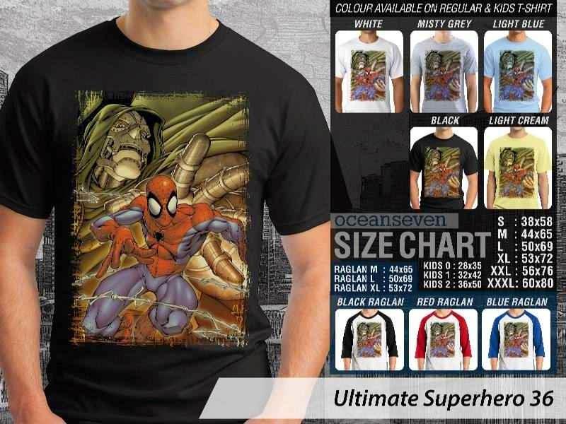 KAOS spiderman 36 Ultimate Superhero distro ocean seven