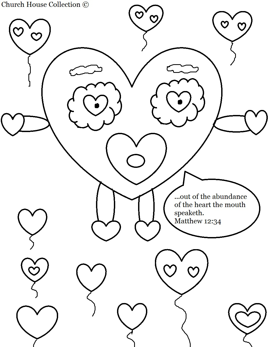 preschool sunday school coloring pages - Bible-Based Coloring Pages for Kids • KidExplorers