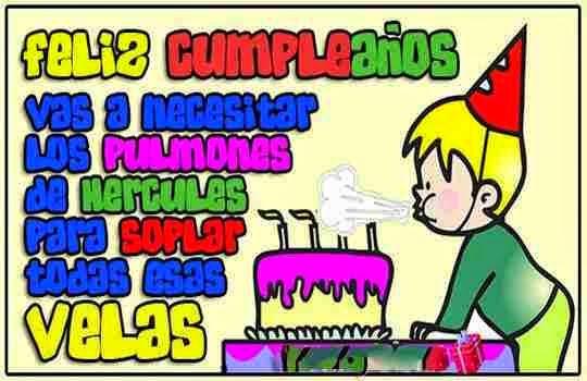 Mensajes y palabras de cumpleaños para niños ~ Frases de cumpleaños