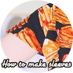 How to sew sleeves