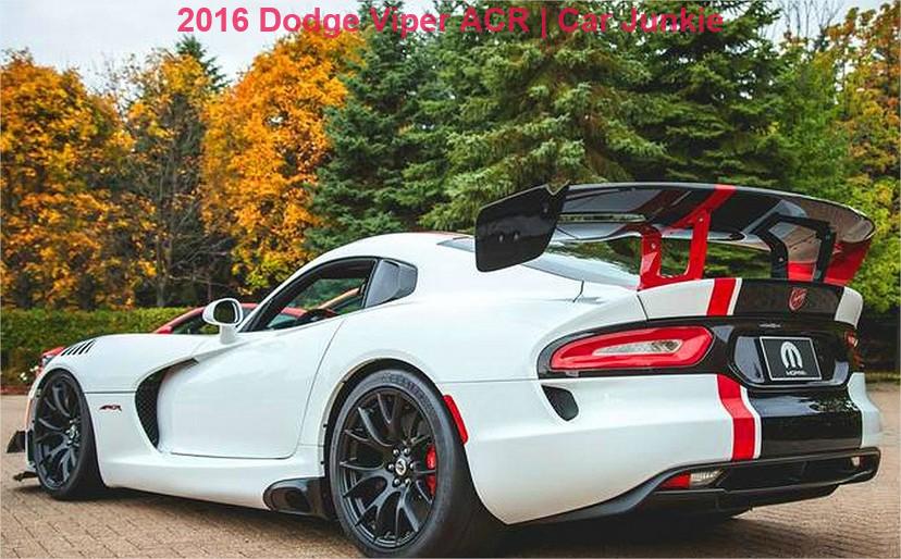 2016 dodge viper gts specs