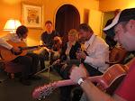 next is an impromptu jam session in Miranda's room