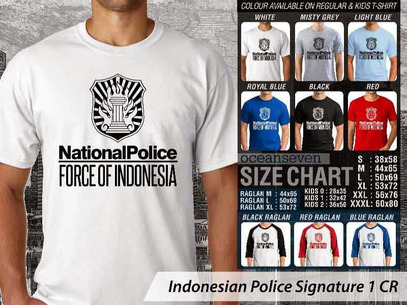 KAOS Indonesian Police Signature 1 | KAOS National Police Force of Indonesia distro ocean seven