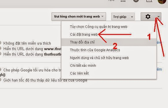 Cách SEO Blogspot với Google Webmaster Tools
