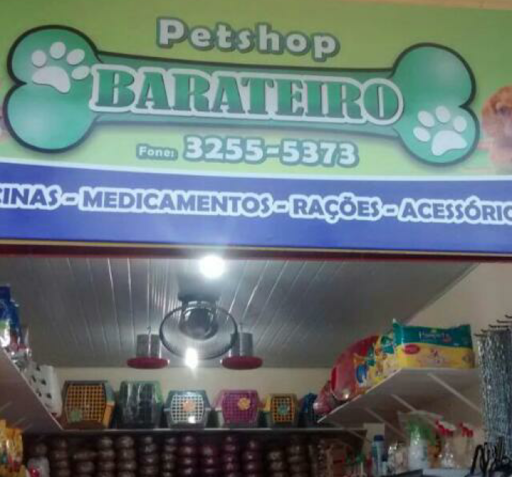 Pet Shop Barateiro, R. Cláudio Sanderes, 285a - Centro, Ananindeua - PA, 67030-325, Brasil, Loja_de_animais, estado Pará