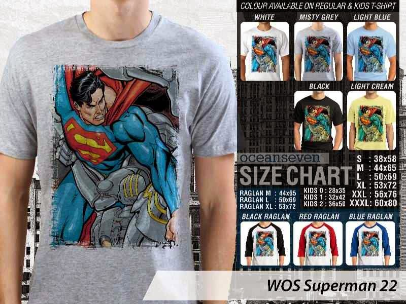 KAOS superman 22 Movie Series distro ocean seven