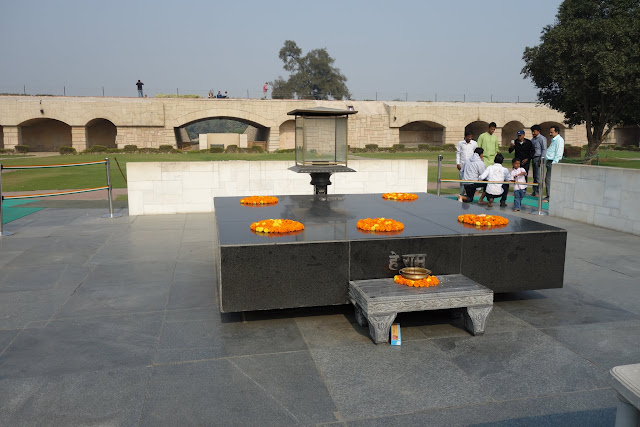 Memorial for Mahatma Gandhi.